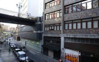 Exterior de la discoteca de Uribitarte / LUIS ÁNGEL GÓMEZ