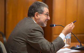 Antonio Alvarado, durante el juicio. / J. CARRIÓN / AGM