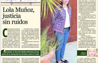 Entrevista Entrevista Mª Dolores Muñoz :: Diario Jaen