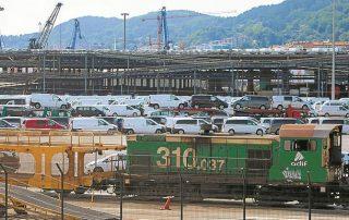 El ferrocarril protagoniza una de las zonas de ruido de Lezo. :: ARIZMENDI