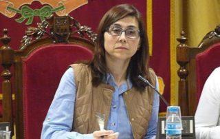 La alcaldesa de Aranda de Duero, Raquel González.. | GABRIEL DE LA IGLESIA